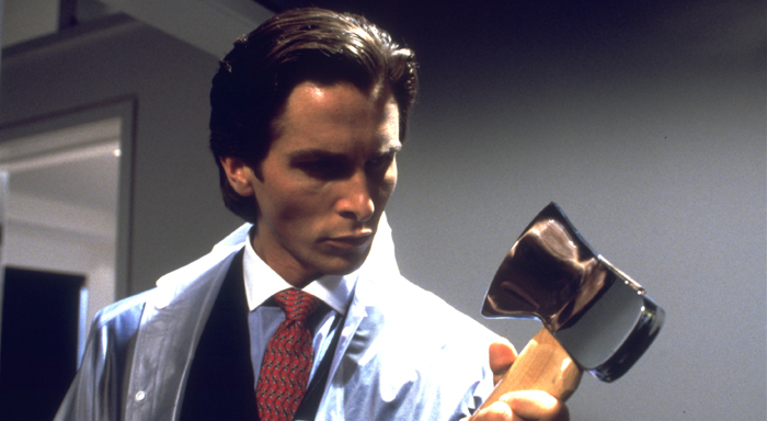 Image: Still from American Psycho (2000, Lions Gate Films)